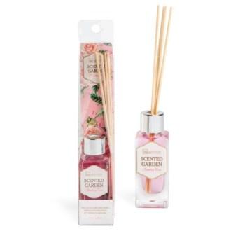 IDC Scented Garden Country Rose Fragrance 40ml & Diffuser & sticks Αρωματικό χώρου & Sticks