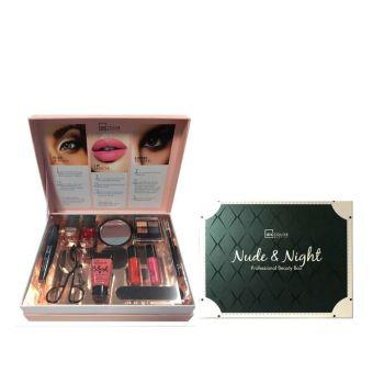IDC Nude & Night Professional Beauty Box Σετ μακιγιάζ 22,5 x 17,5 x 5cm