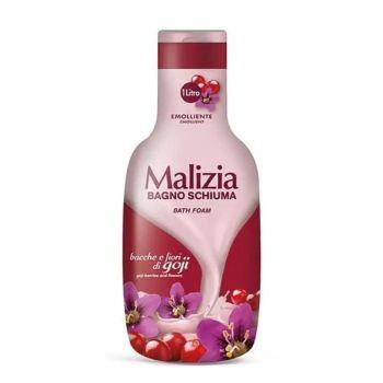Αφρόλουτρο Malizia Bagno Schiuma Goji Berries & άνθη 1lit
