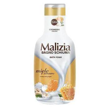 Malizia Bagno Schiuma Αφρόλουτρο Μέλι & Τζίντζερ 1lit