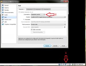 blog MySQL VirtualBox configuración red puente
