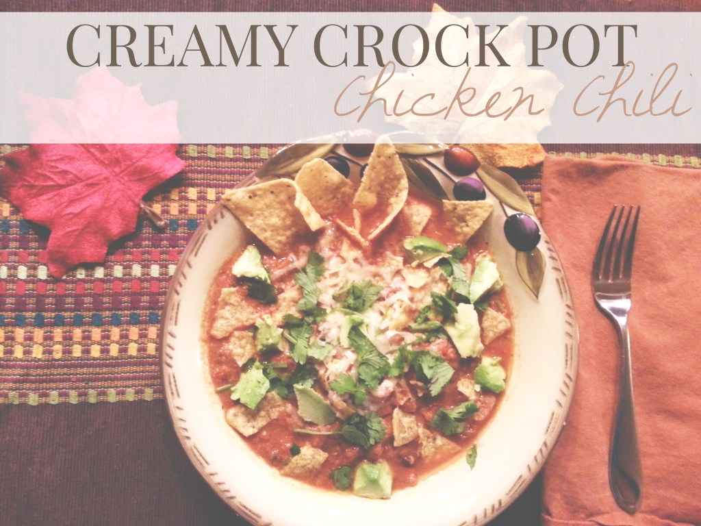 creamy crock pot chili