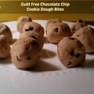 Guilt Free Chocolate Chip Cookie Dough Bites