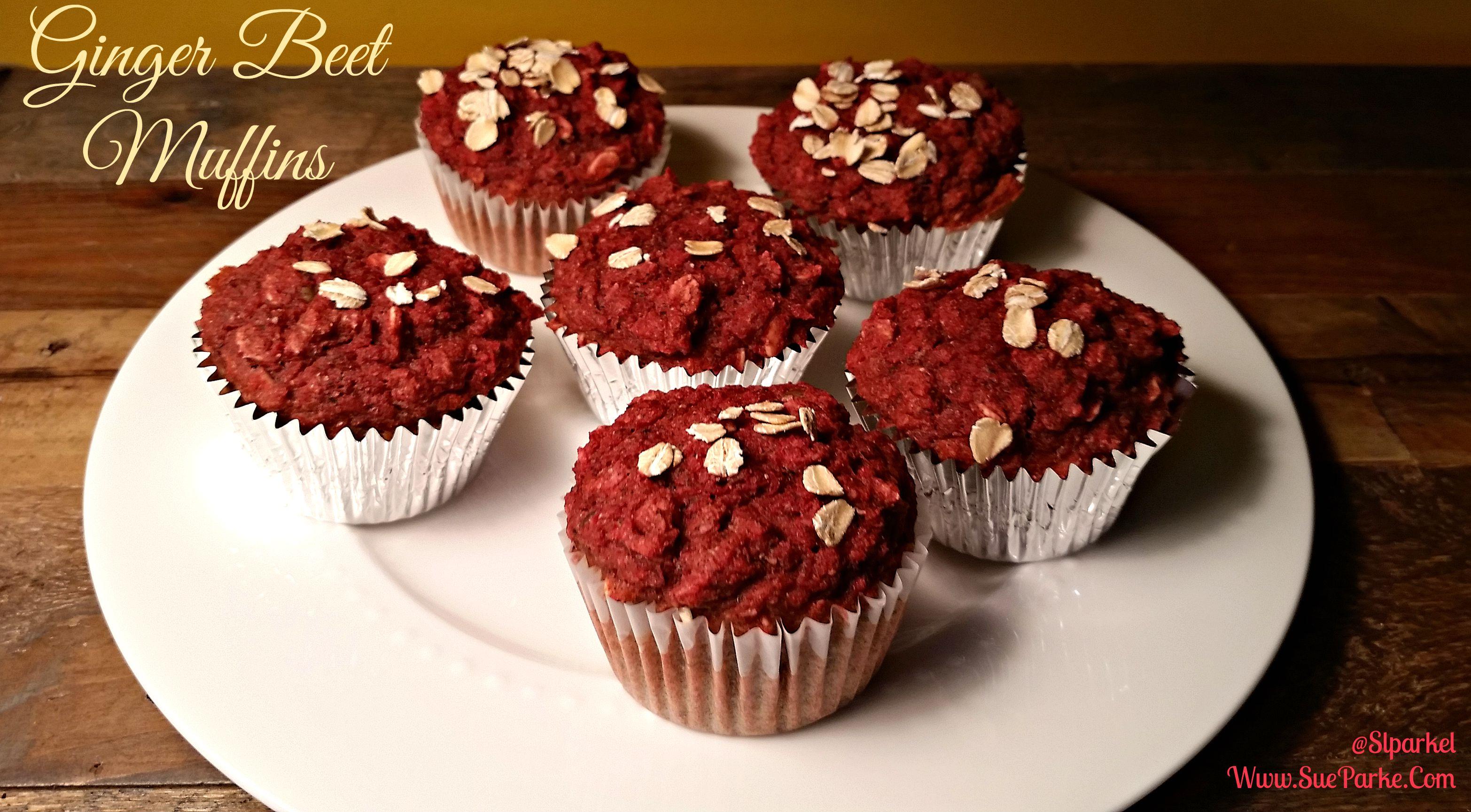 Ginger Beet Muffins - Blog