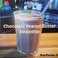 Susie's Chocolate Peanut Butter Smoothie