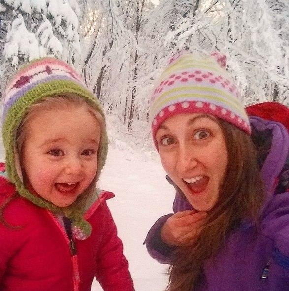snow faces