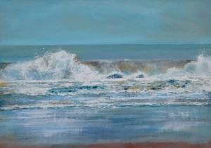 giclee print cornish seascape