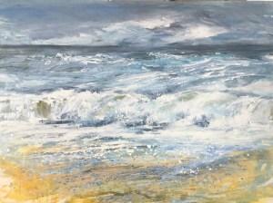 Wild Cornwall giclee print seascape