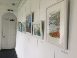 The castle bude art exhibition