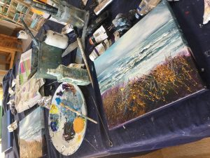 Art workshop in Cornwall with Sue Read
