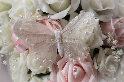 Wedding flowers brides style teardrop bouquet in pale baby pink and wedding flowers brides style teardrop bouquet in pale baby pink and ivory rose mightylinksfo