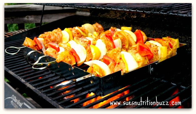 Middle Eastern Chicken Kebabs with Curicumin Power
