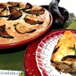 Grilled Eggplant Moussaka with Flaxmeal