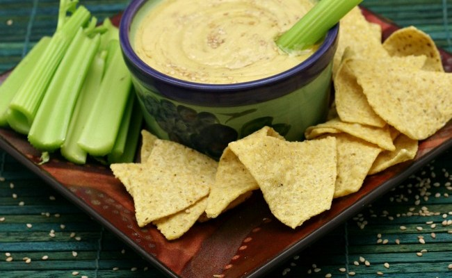 Classic Hummus Made Creamier With Coconut Milk