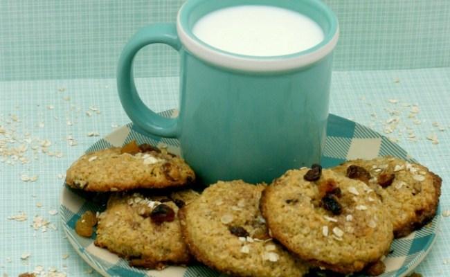Quinoa Oatmeal Raisin Cookies With Coconut Oil #GlutenFree