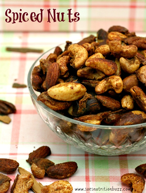 Sweet N Spicy Roasted Nuts With Cumin & Cinnamon For A Birthday #SundaySupper