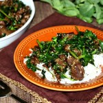 Venison Stir Fry with Snow Pea Shooters