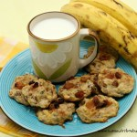 Banana Oatmeal Raisin Cookie