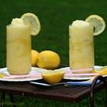 pineapple lemonade slushy