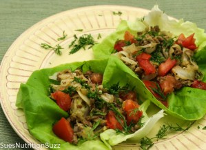 venison lettuce wraps