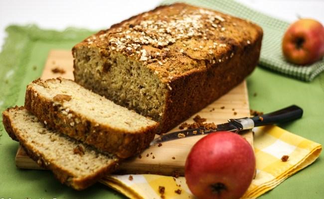 Apple Flax Zucchini Bread #GlutenFree #SundaySupper