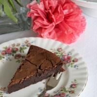 Französischer Schokoladenkuchen - schokoladiger geht's nicht
