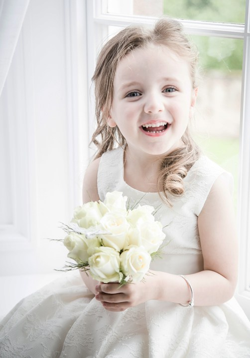 doxford-hall-wedding-flower-girl