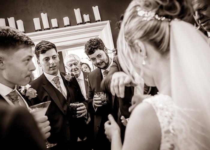 newton-hall-wedding-magician