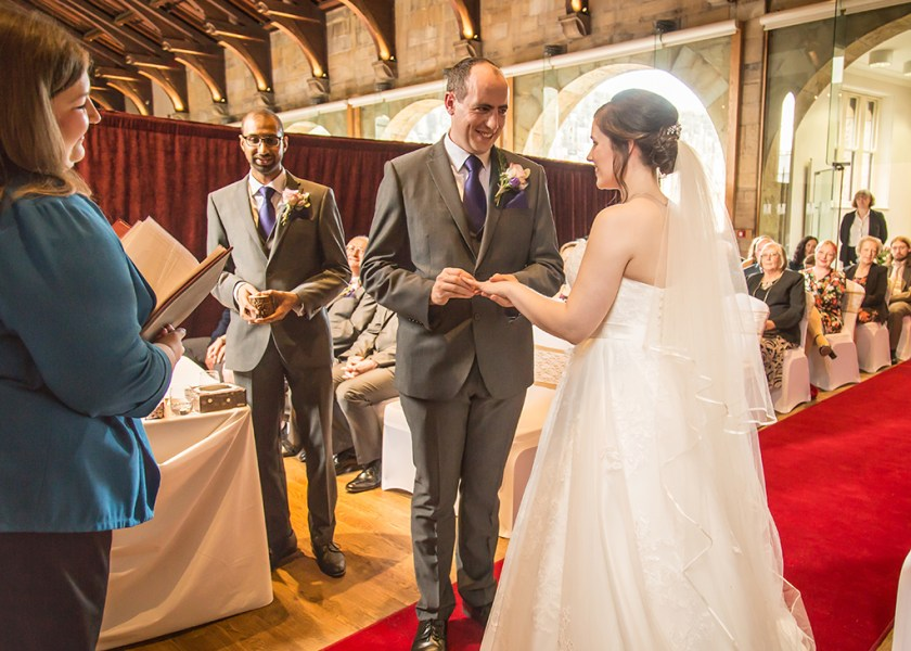 exchanging rings alnwick castle colour