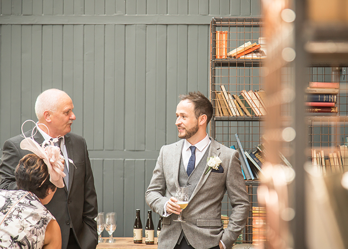groom with guest