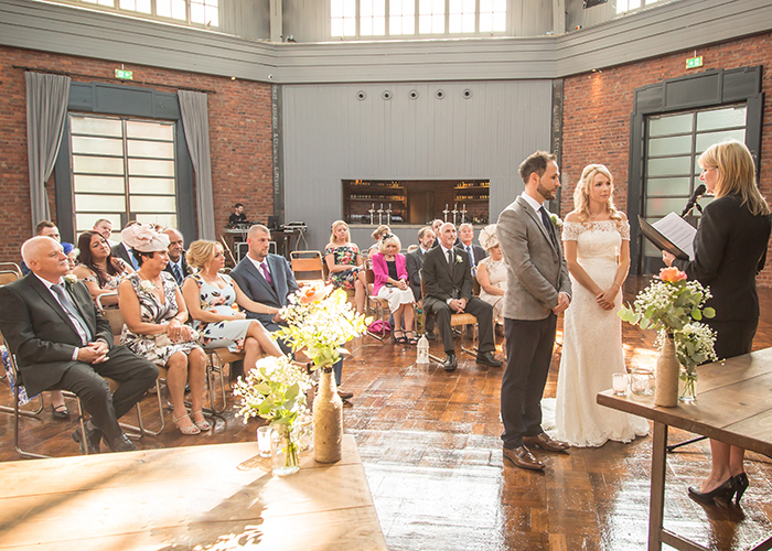 wedding ceremony wylam brewery