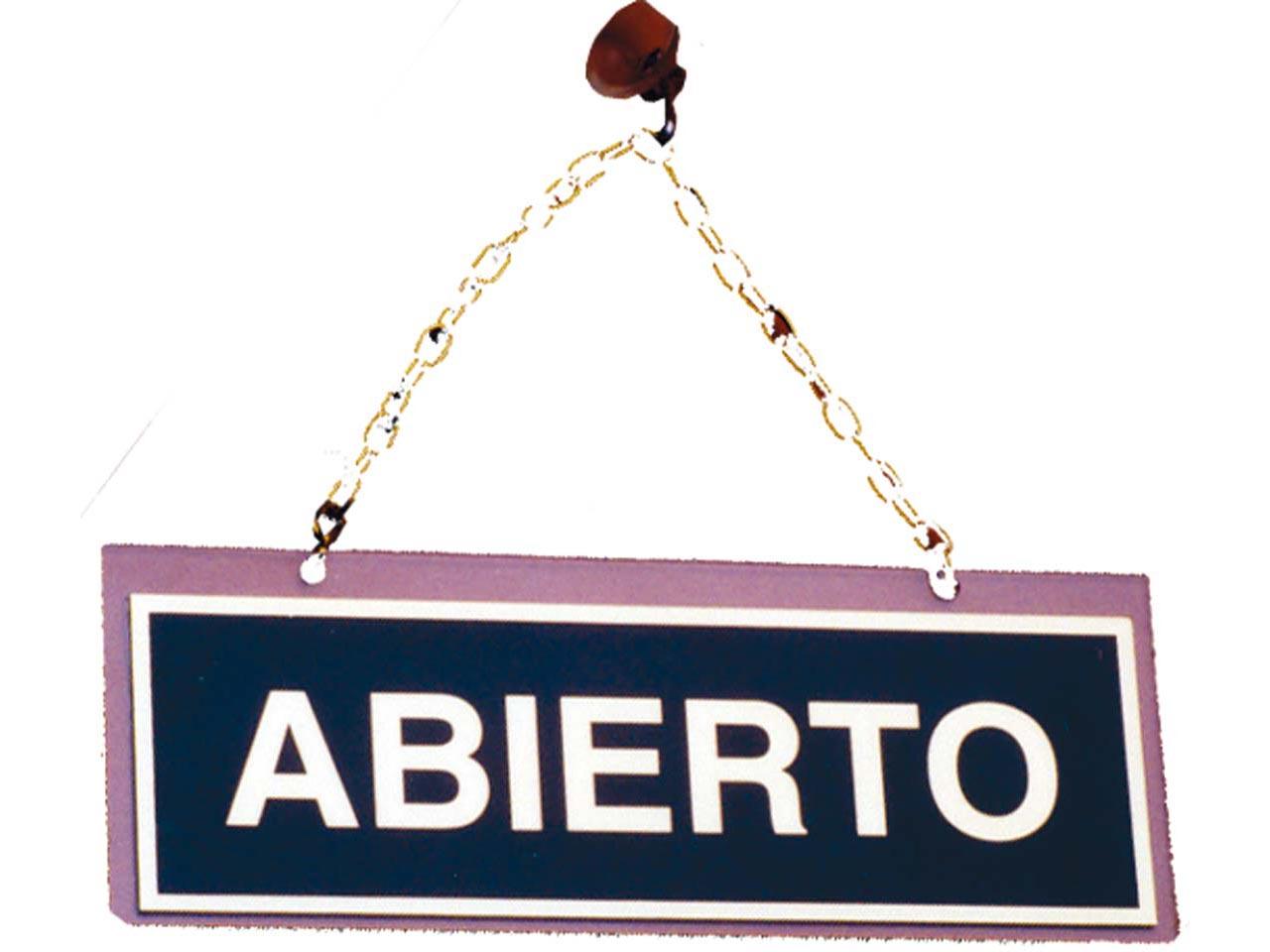 SUFERSA  CARTEL ABIERTO  CERRADO