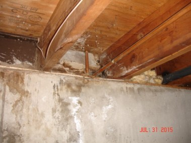 Foundation - Leaking Pipe
