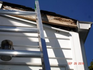 Fascia Board In Need of replacing