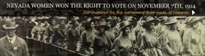 Nevada women centennial voting
