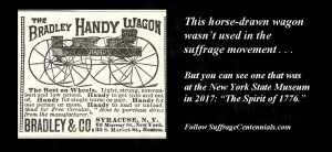 Wagon to go on exhibit at NYS Museum