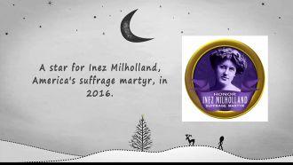 Inez Milholland, suffrage martyr