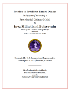 Citizens Medal Petition