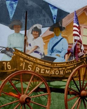 1913 Suffrage Wagon