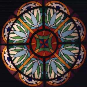 Rosone abside