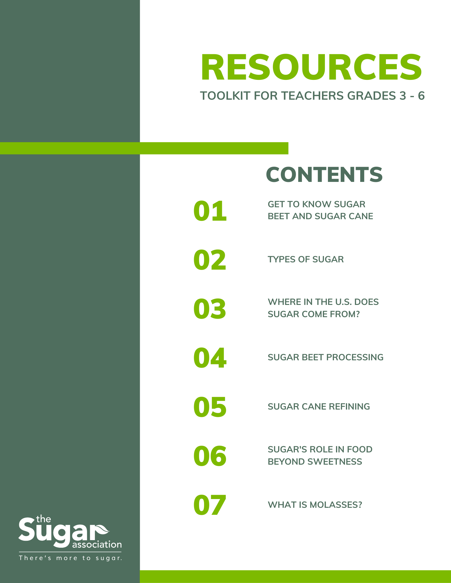Resource Toolkit for Grades 3-6