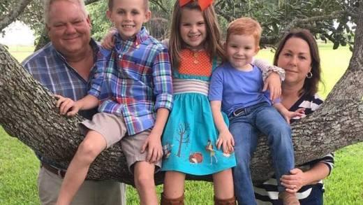 Cheryl and Sonny Stein with grandchildren
