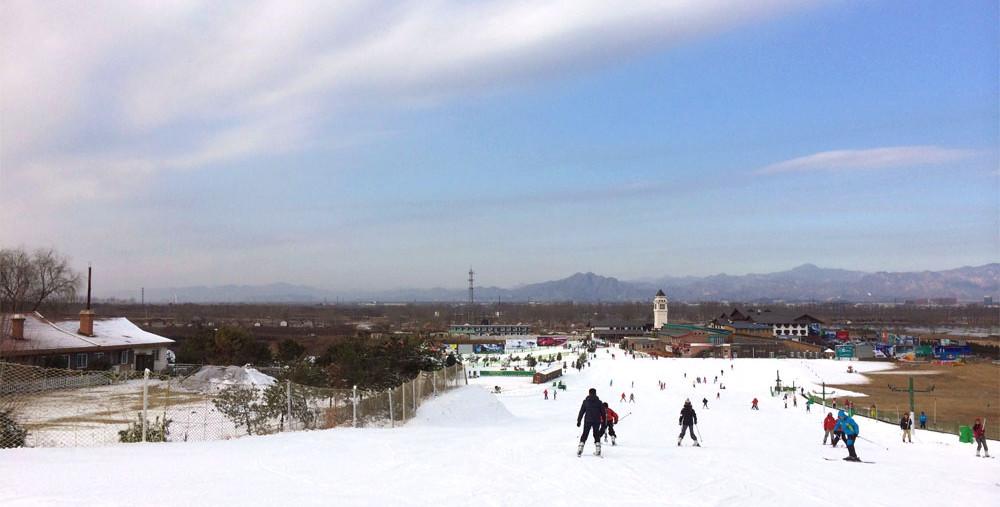 北京 南山滑雪場