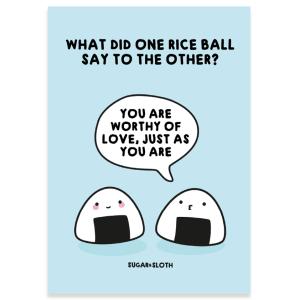cute funny postcard