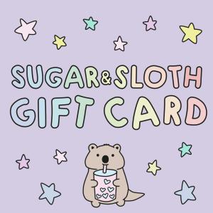 sugar and sloth gift card