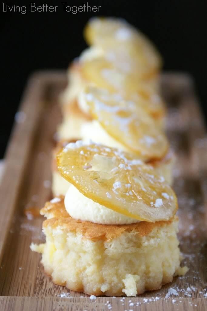 Sansa's Lemon Cakes | Living Better Together