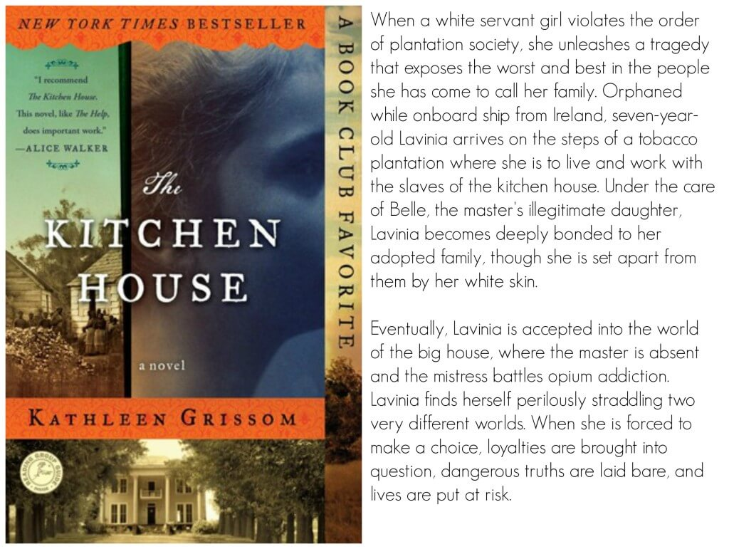 Kitchen House Book The Kitchen House Book Club Ideas