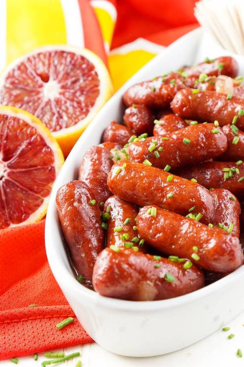 Spicy Blood Orange Lit'l Smokies