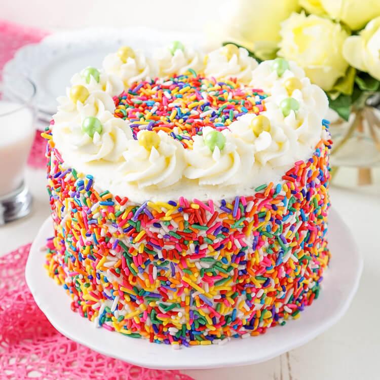 Funfetti Birthday Cake Sugar Amp Soul
