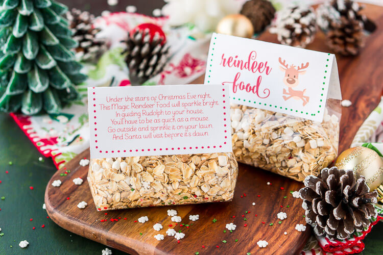DIY Magic Reindeer Food Kit